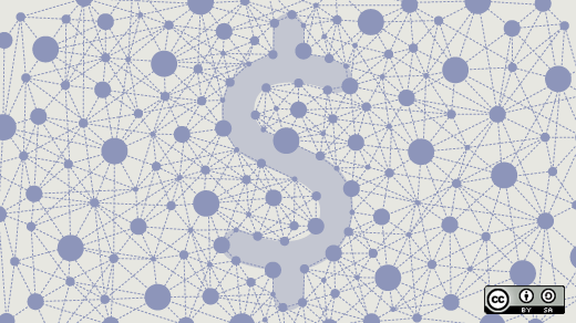 A dollar sign in a network
